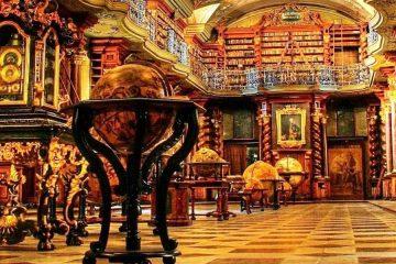 הספריה הכי יפה בעולם נמצאת בפראג