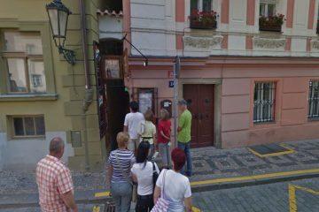 הרחוב הכי צר בפראג